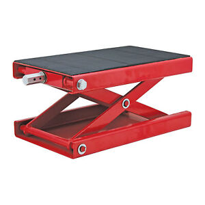 Extreme Max Wide 1000 Pound Atv Motorcycle Scissor Platform Lift Jack used