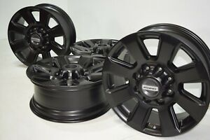 20 Ford F 250 F 350 Factory Oem Rims Wheels Black 2017 2018 2019 2020 10102
