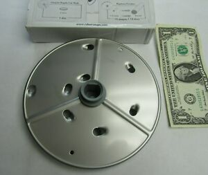 New Robot Coupe Extra Coarse Stainless Steel Grating Disc 9 Mm 11 32 R301 27632