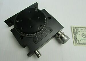New Aerotech Precision Rotary Stage 360 2 54 Arc Sec Tabletop Ars 301 Ars301 uf