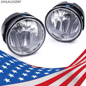 Pair Fog Light Fit 2007 2014 Ford Expedition 2008 2011 Ranger Bumper Lamp New