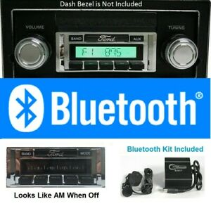 1968 1972 Ford Truck Bluetooth Stereo Radio Free Aux Cable Hands Free 630bt