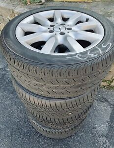 Mercedes S550 Oem Wheels Set Of Rims And Tires