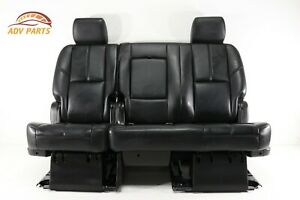 Chevy Suburban Gmc Yukon Escalade Rear 2nd Second Row Seat Bench Oem 2007 2014