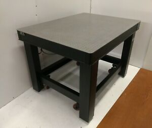 Tested Tmc Clean Top Ii Optical Table Roll around Micro g Pneumatic Isolation