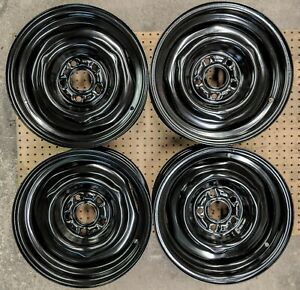 Shelby Wheels Gt350 Gt500 1967 67 Fomoco Kelsey Hayes 15x6 Show Quality Set Of 4