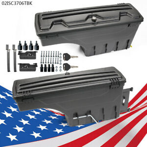 Left Right Lockable Storage Truck Bed Tool Box Fit Dodge Ram 1500 2500 3500