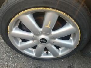 Wheel Coupe 17x7 Alloy 8 Spoke Silver Fits 07 14 Mini Cooper 330966
