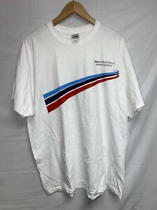 Bmw Performance Driving School 100 Cotton T shirt Mens Size Xl Vintage