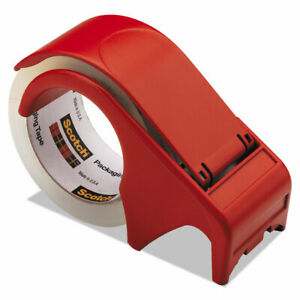 3m Scotch Tape Dispenser 2 Packing Shipping Roll Ship Red Box Mail Package