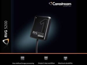 2 X New Carestream Kodak Rvg 5200 Digital X ray Sensor For Dental X ray Size 1