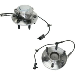 Set Of 2 Wheel Hubs Front Left And Right For Chevy Avalanche Suburban Yukon Pair