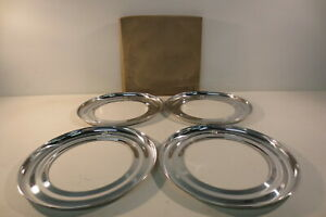 Vintage Nos 15 Beauty Rings Hubcaps 1940 S Chevy Ford Chrysler Mopar Accessory