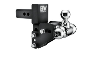 B W Tow Stow Adjustable Trailer Hitch Ball Mount For Gmc Multipro Ts10064bmp