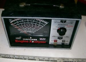 Mechanics Vintage Sears Craftsman Engine Analyzer 161 210400 For Parts Or Repair