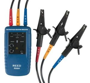 Reed Instruments R5004 Motor Rotation 3 phase Tester