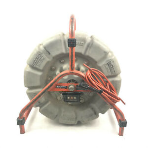 Ridgid Seesnake Count Plus Mini Camera Reel 125 Black White Sewer Inspection