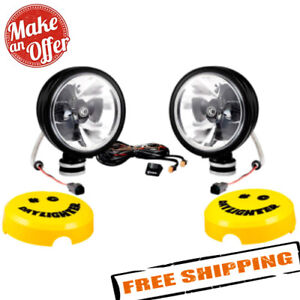 Kc Hilites 651 Daylighter 6 2x20w Round Spot Beam Led Lights With Gravity Led
