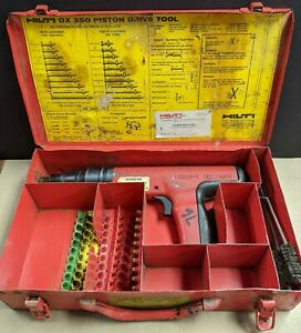 Hilti Dx350 Power Actuated Tool With Case
