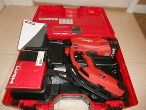 Hilti Gx 3 Gas Powered Actuated Nail Gun