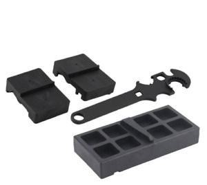 Tactical Wrench Ar15 M4 Tool Wrench Three Piece Set Of Tactical Clamp Block