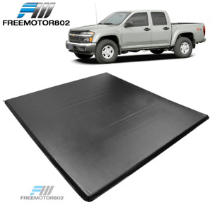 Fits 04 11 Chevy Colorado Gmc Canyon 5 3 Ft Truck Bed 3 Fold Tonneau Cover