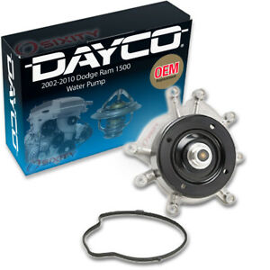 Dayco Engine Water Pump For 2002 2010 Dodge Ram 1500 3 7l 4 7l V6 V8 Coolant Ve