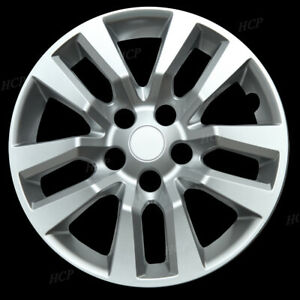 Fits 02 14 Nissan Altima Quest New 16 Silver Hub Cap Hubcap Covers Set Of Four