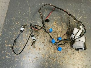 04 10 Vw Volkswagen Touareg Rear Back Hvac Heater Box Wire Wiring Harness
