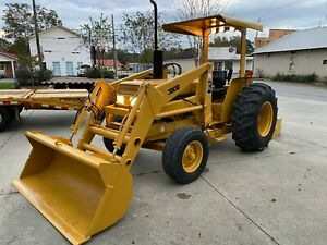 Case International 380bfront End Loader Tractor Pto Heavy Duty Construction