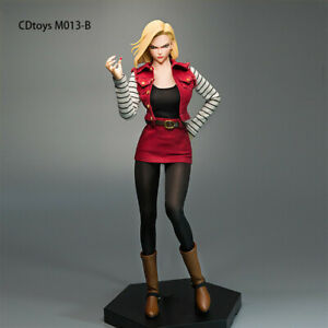 cdtoys m013 1 6 Android 18 Female costume 12#x27;#x27; Phicen Figure Clothes Accessory $48.99