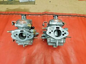 Triumph Gt6 Stromberg Zenith Cd150 Carburetors Rebuilt Original