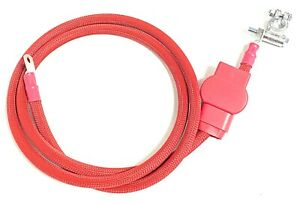 Positive 60 Battery Cable For 94 02 Dodge Cummins W military Style Term 450a