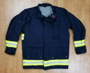 Globe Lifeline Emt Ems Tech Rescue Firefighter Turnout Jacket Sz M