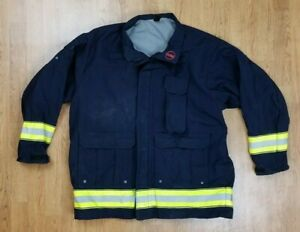 Globe Lifeline Emt Ems Tech Rescue Firefighter Turnout Jacket Sz Xl