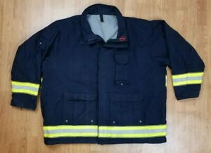 Globe Lifeline Emt Ems Tech Rescue Firefighter Turnout Jacket Sz 4xl