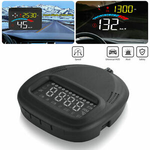 Digital Car Auto Gps Mph Km H Hud Display Speedometer Speed Indication Universal