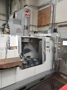Haas Vf2ss Super Speed Vertical Machining Center 2007 Wired For 4th Axis