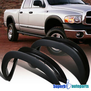 For 2002 2008 Dodge Ram 1500 03 09 2500 3500 4 Pcs Factory Style Fender Flares