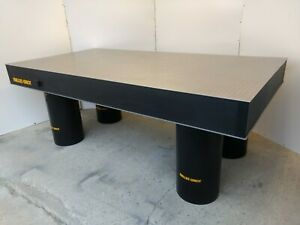 Crated Melles Griot Optical Table W Rigid Legs Breadboard Lab Laser Isolation