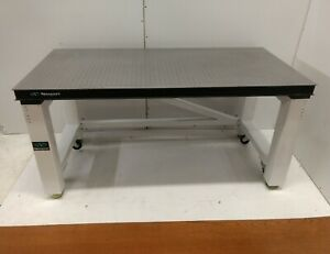 Crated Newport 36 X 60 Optical Breadboard Table Rigid Roll around Bench
