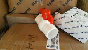 Legend 1 1 2 Pvc Ball Valve 201 407 Solvent Weld Ends New In Box