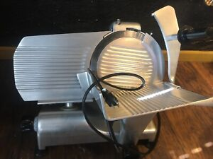 Globe G12 Commercial Meat Slicer Electric Manual Deli Cheese Food tested read
