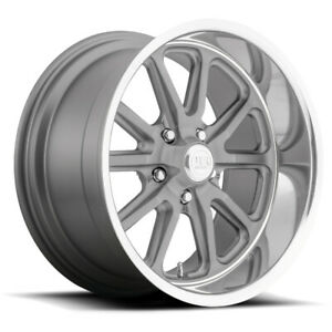 Staggered Us Mags U111 Rambler 17x7 17x8 5x4 5 1mm Gunmetal Wheels Rims
