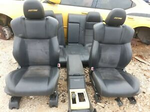 06 Dodge Charger Daytona Black yellow Leather Seats Center Console