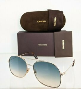 Brand New Authentic Tom Ford Sunglasses Ft Tf 0758 28p Tf758 D Delilah 02 60mm