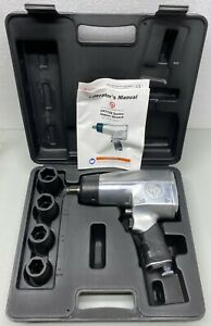 Chicago Pneumatic 3 4 Impact Wrench Kit Cp772hk W 4 Sockets 15 16 1 1 8