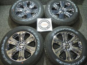 2020 Ford F150 King Ranch 20 Chrome Wheels Tires Factory Gdy At P275 55r20 822