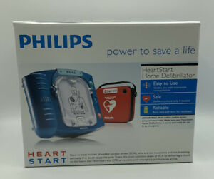 Philips Heartstart Home Aed Defibrillator With Slim Carry Case M5068a New Sealed