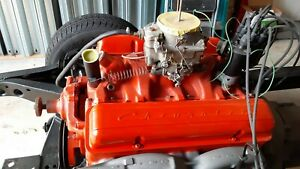 1957 Chevrolet 283 Power Pack Engine And Power Glide Transmission